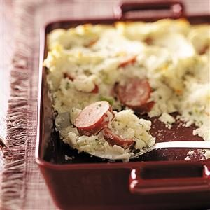 Farm-Style Sausage Bake Recipe