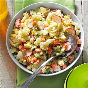 Faux Potato Salad Recipe