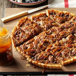 Favorite Chocolate-Bourbon Pecan Tart Recipe