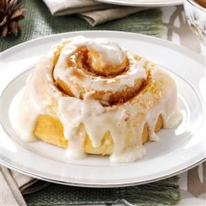 Favorite Frosted Cinnamon Rolls Recipe