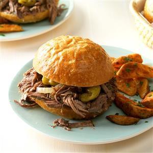 Favorite Italian Beef Sandwiches Recipe
