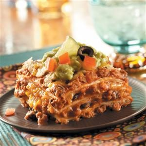 Favorite Mexican Lasagna Recipe
