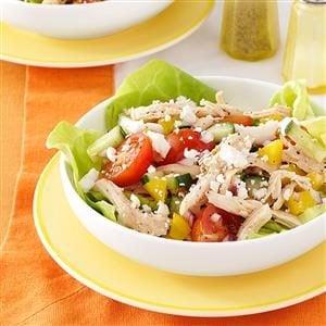 Feta Chicken Salad Recipe