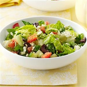Feta Romaine Salad