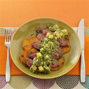 Fiesta Grilled Flank Steak Recipe