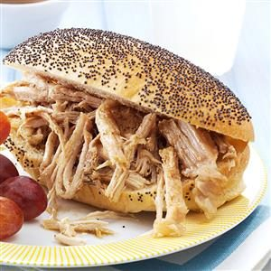 Fiesta Pork Sandwiches Recipe