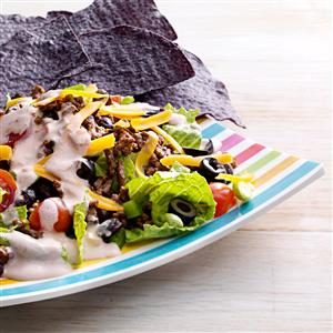 Fiesta Taco Salads Recipe