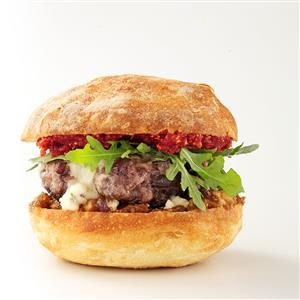 Fig-a-licious Pork Burgers Recipe