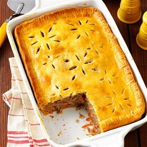 Finnish Meat Pie