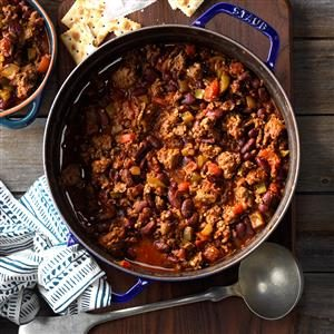 Firehouse Chili Recipe