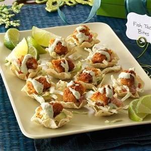 Fish Taco Bites Recipe