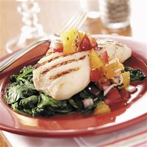 Fish with South Seas Salsa Recipe