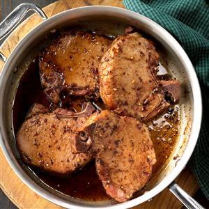 Five-Spice Glazed Smoked Chops Recipe