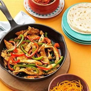 Watch Us Make: Flavorful Chicken Fajitas