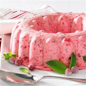 Fluffy Cranberry Mousse Recipe