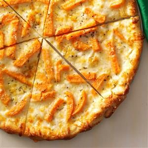 Fontina & Sweet Potato Pizza Recipe