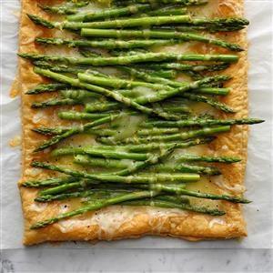 Fontina Asparagus Tart Recipe