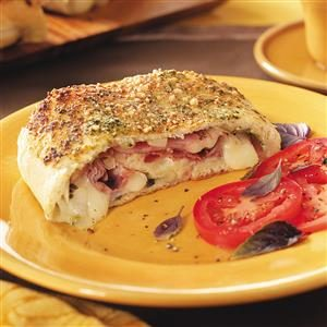 Fontina Ham Stromboli