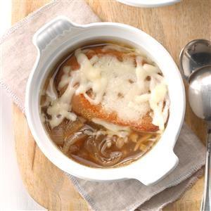 Four-Onion Soup Recipe