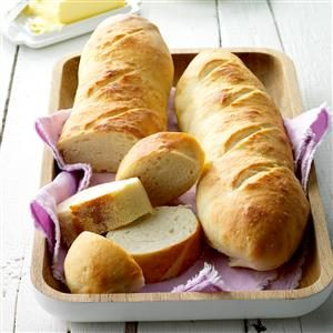 French Loaves Recipe