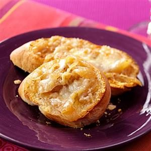 French Onion Garlic Bread