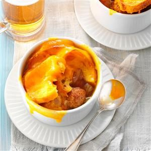 French Onion Soup with Meatballs Recipe