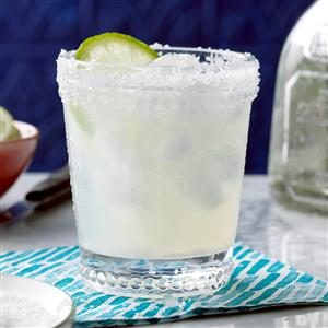 Fresh Lime Margaritas Recipe