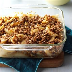 Fresh Pear Ginger Crisp Recipe