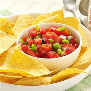 Fresh Strawberry Salsa Recipe