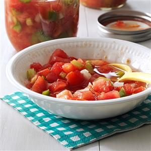 Fresh Tomato Relish Recipe