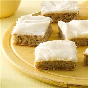 Frosted Banana Bars Recipe