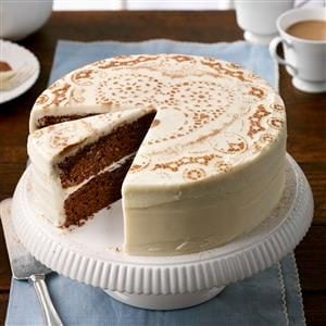 Frosted Chocolate Cake Recipe