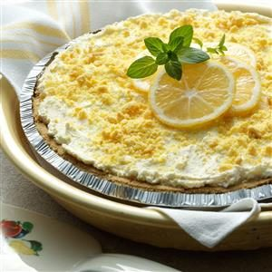 Frosty Lemonade Pie Recipe