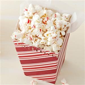 Frosty Peppermint Popcorn Recipe
