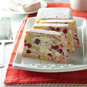 Frozen Pineapple-Cranberry Salad Recipe