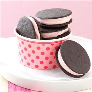 Frozen Sandwich Cookies Recipe