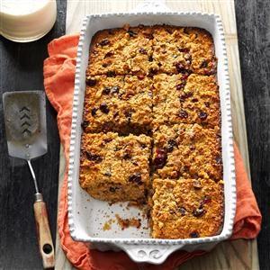Fruit & Nut Baked Oatmeal Recipe