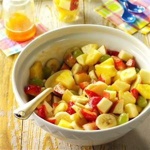 Fruit Salad with Apricot Dressing Recipe