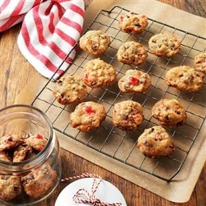 Fruitcake Christmas Cookies Recipe