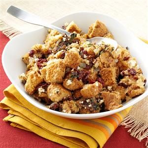 Fruited Goat Cheese Stuffing Recipe