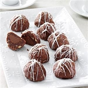 Fudge Bonbon Cookies Recipe