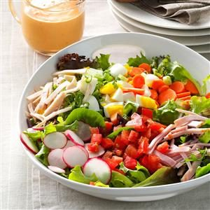 Garden-Fresh Chef Salad Recipe