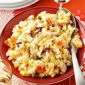 Garden Mashed Potatoes Recipe