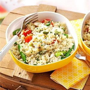 Garden Quinoa Salad Recipe