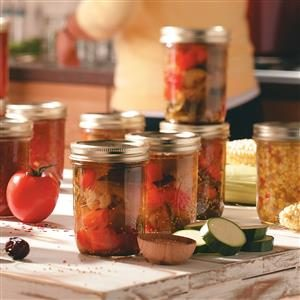 Garden's Harvest Pickles Recipe