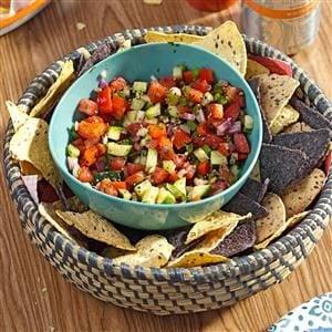 Garden Veg Salsa Recipe