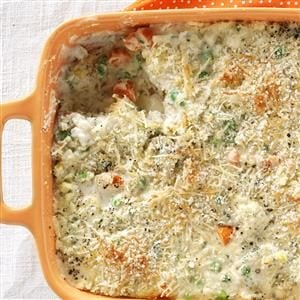 Garden Vegetable Bake Recipe