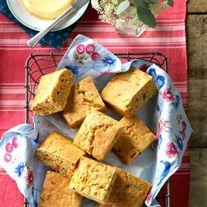 Garden Vegetable Corn Bread Recipe
