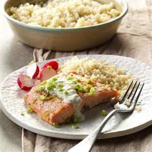 Garlic & Herb Artichoke Salmon Recipe