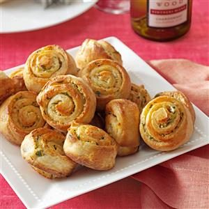 Garlic Bread Spirals
